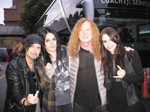 BlackRain Megadeth Motörhead