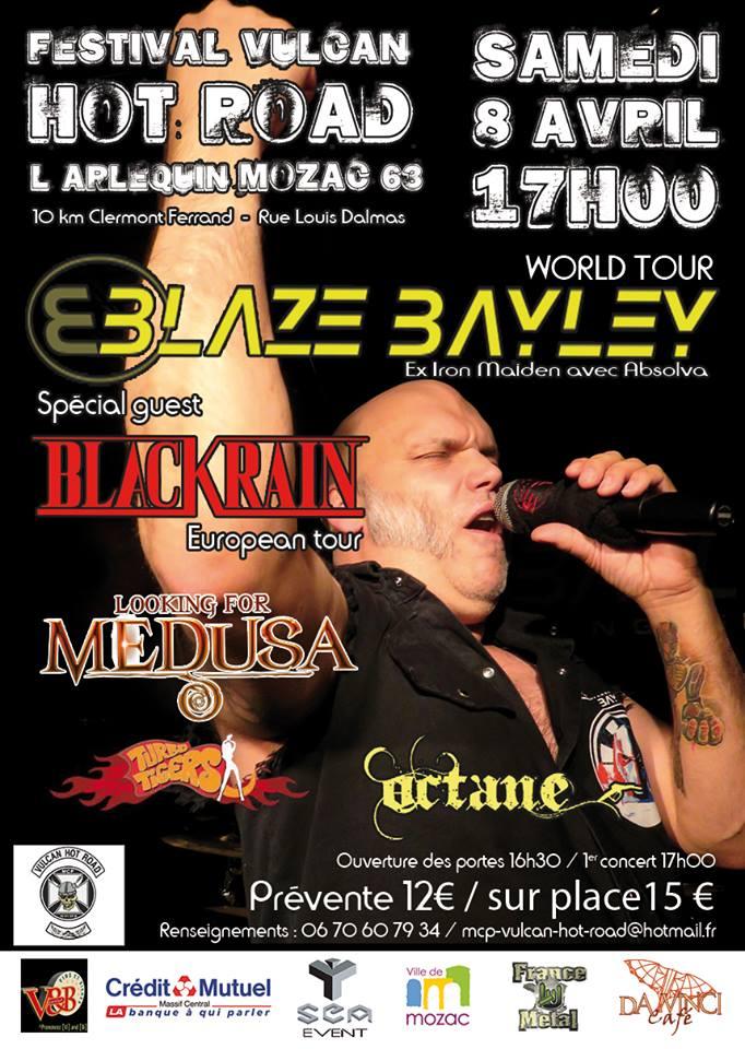 Festival Vulcan Blaze Bailey BlackRain